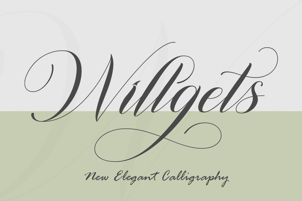 Willgets example image 1