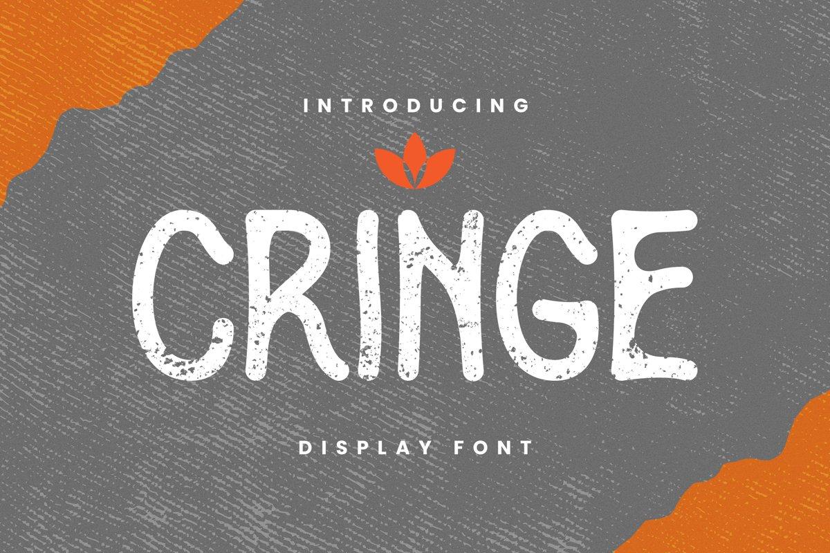 Cringe Font example image 1