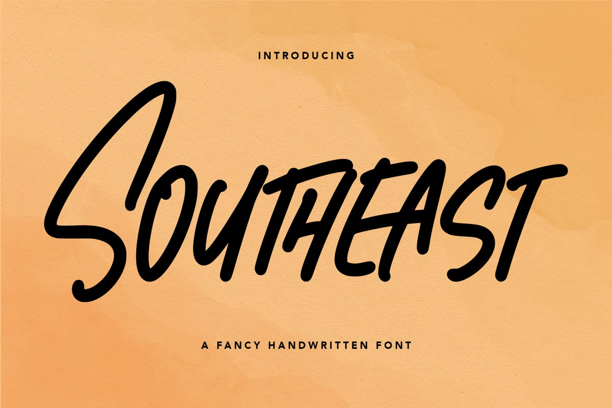 Southeast - Fancy Handwritten Font example image 1