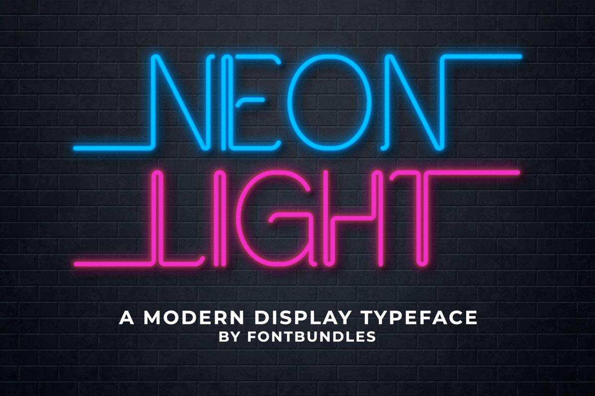 Neon Light example image 1