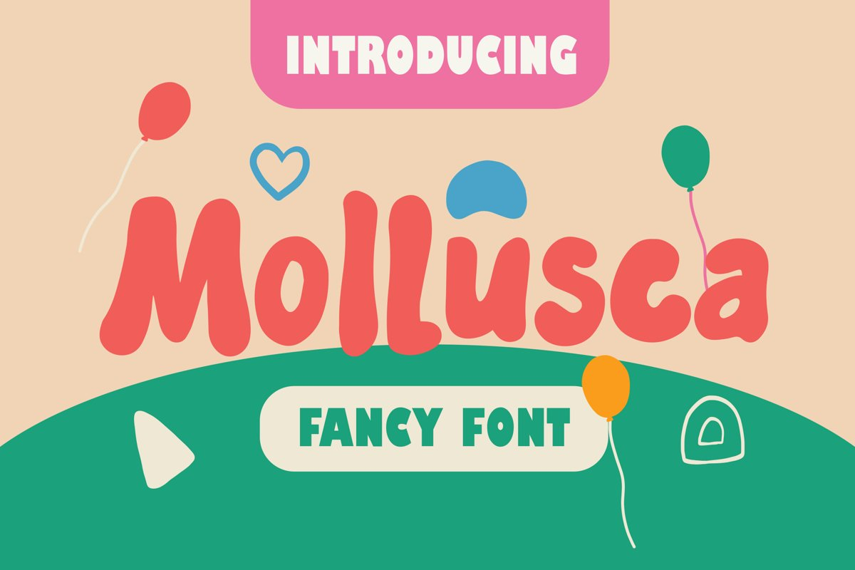 Mollusca - Fancy Fonts example image 1
