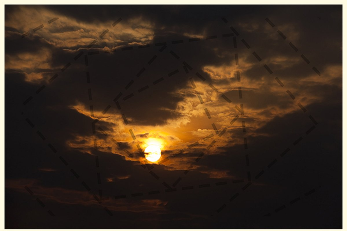 the sky at sunset example image 1