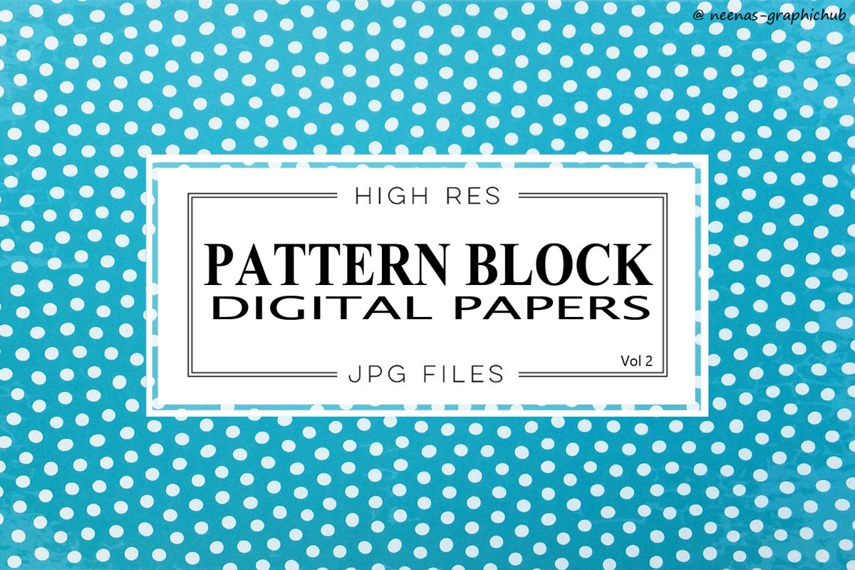 Pattern Design Digital Papers - Vol 2 example image 1