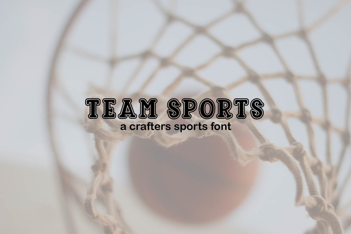 Team Sports Craft Font example image 1