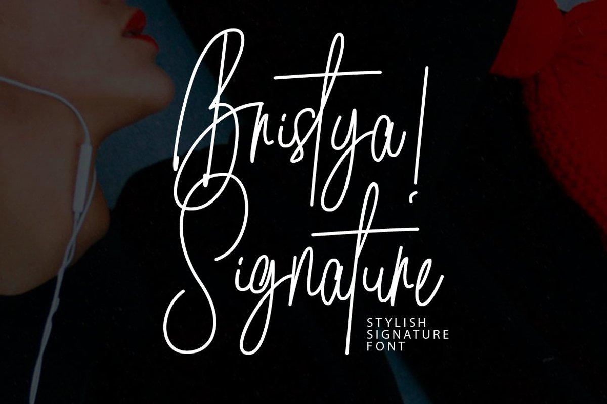 Bristya Signature example image 1