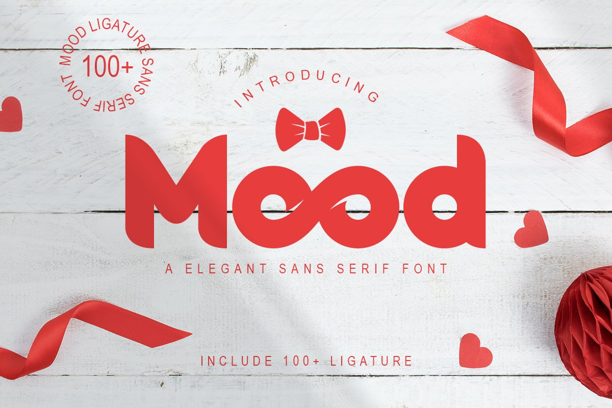 Mood | Sans Serif Font example image 1