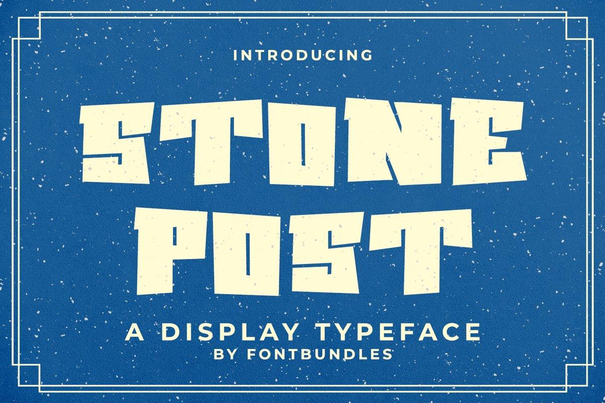 Stone Post example image 1