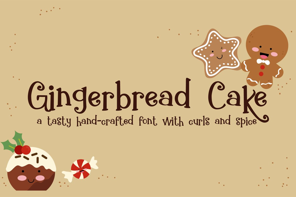 ZP Gingerbread Cake example image 1