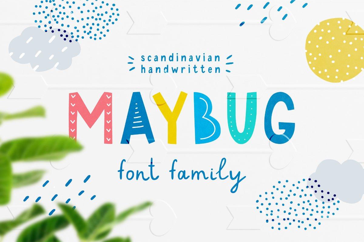 Maybug Latin & Cyrillic scandinavian fonts example image 1