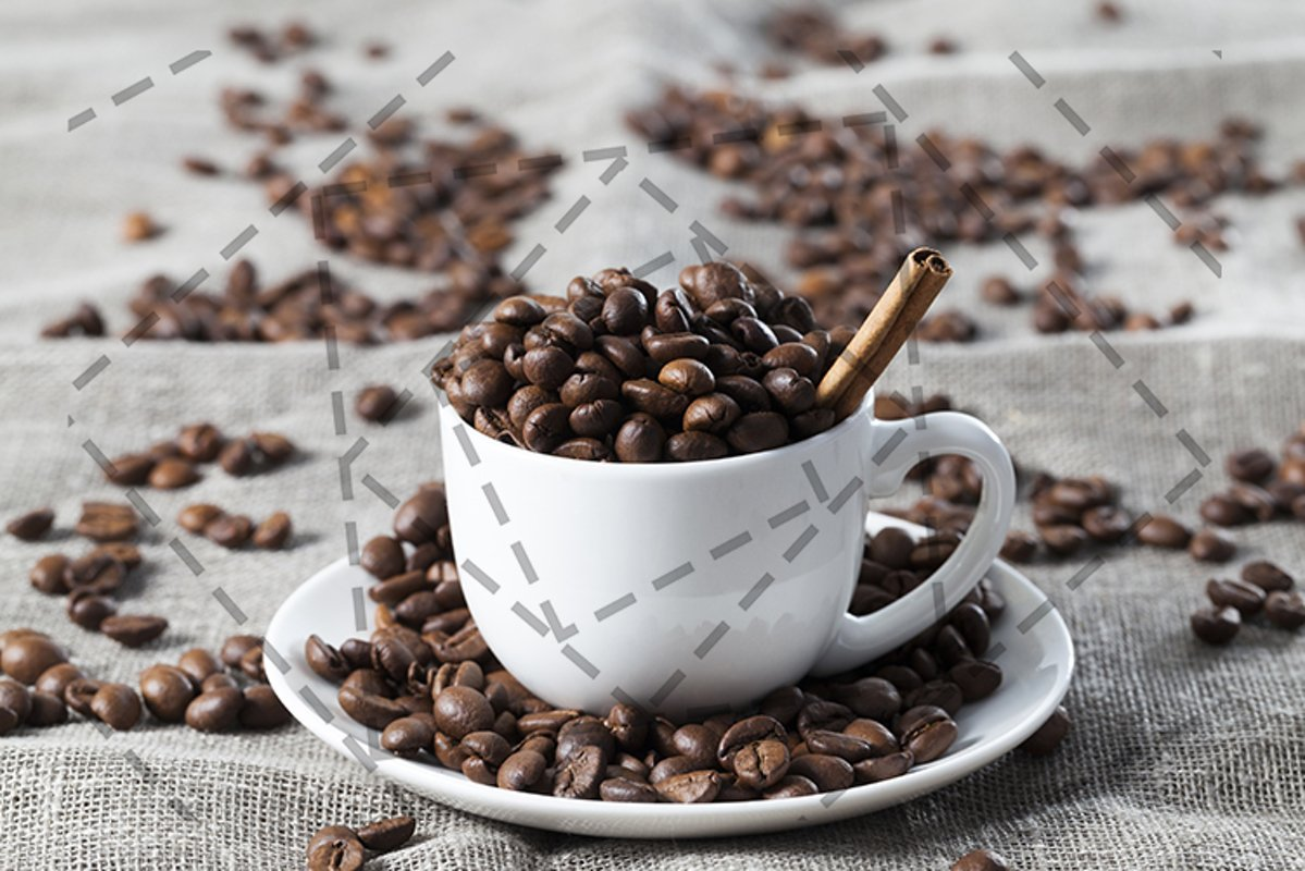 brown coffee beans example image 1
