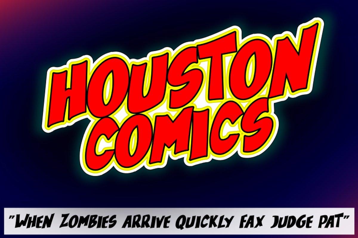 Houston Comics example image 1