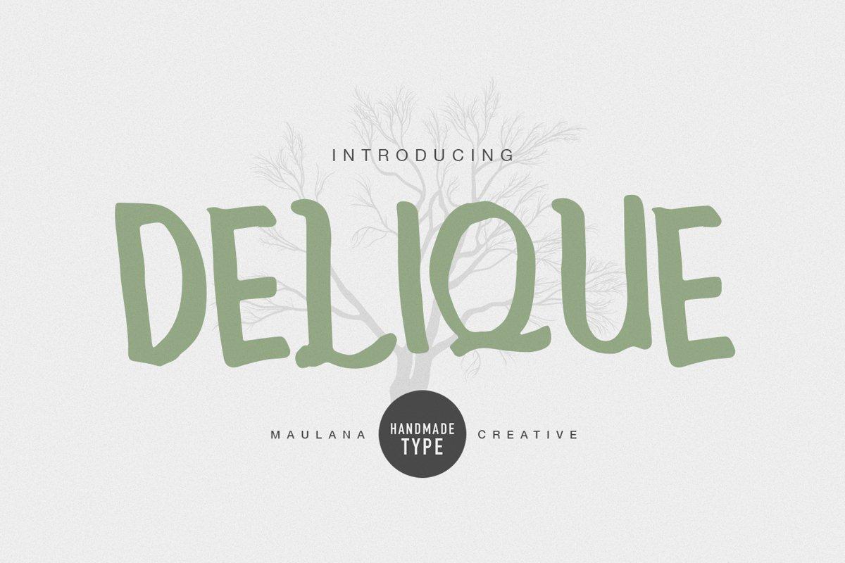 Delique Handmade Type example image 1