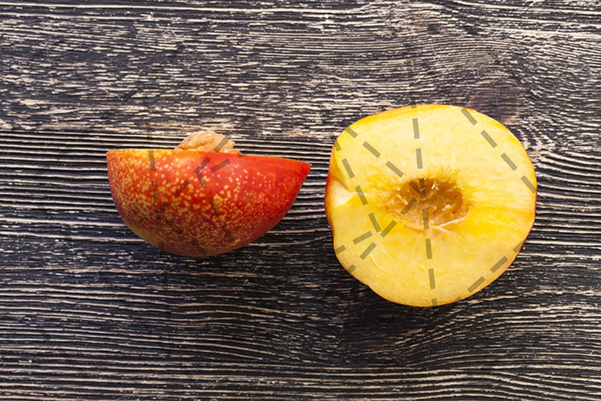 ripe peach example image 1