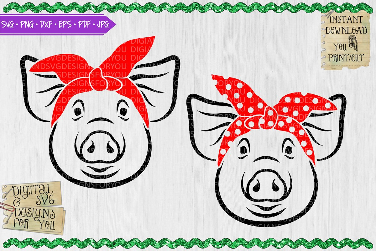 Pigs with bandanas example image 1
