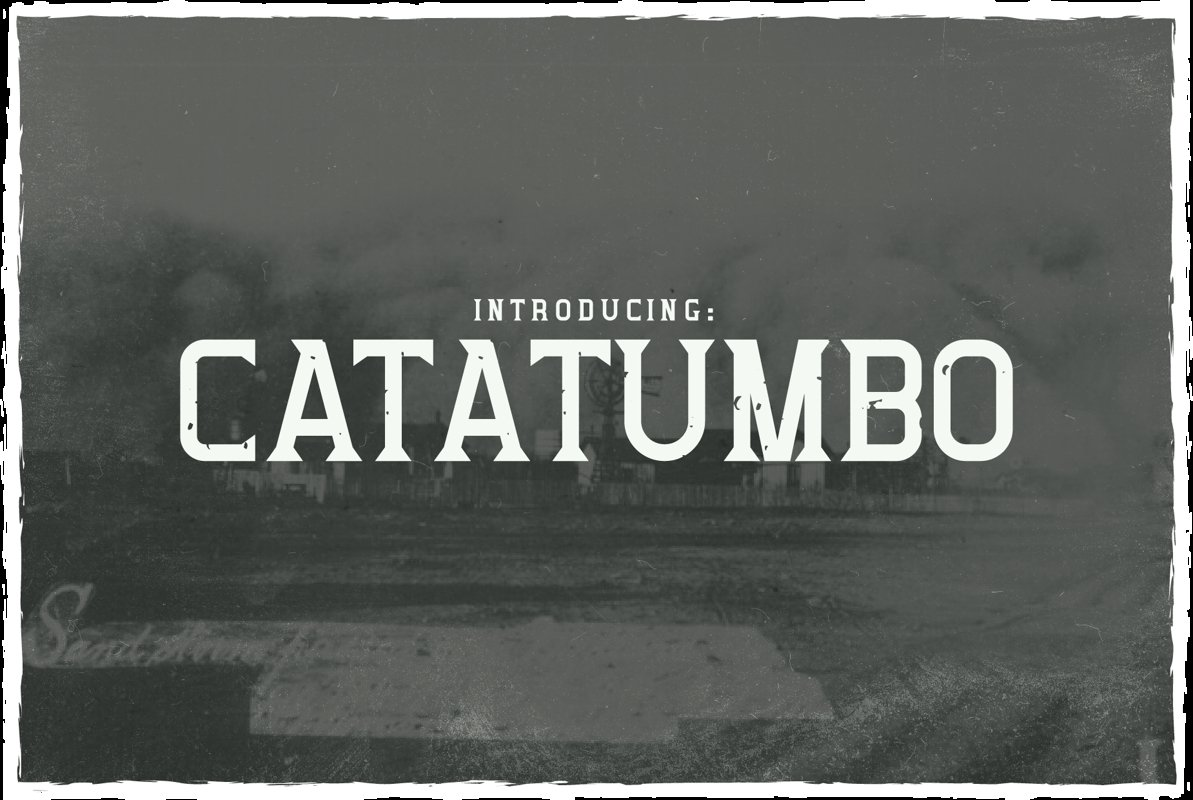 Catatumbo Font example image 1