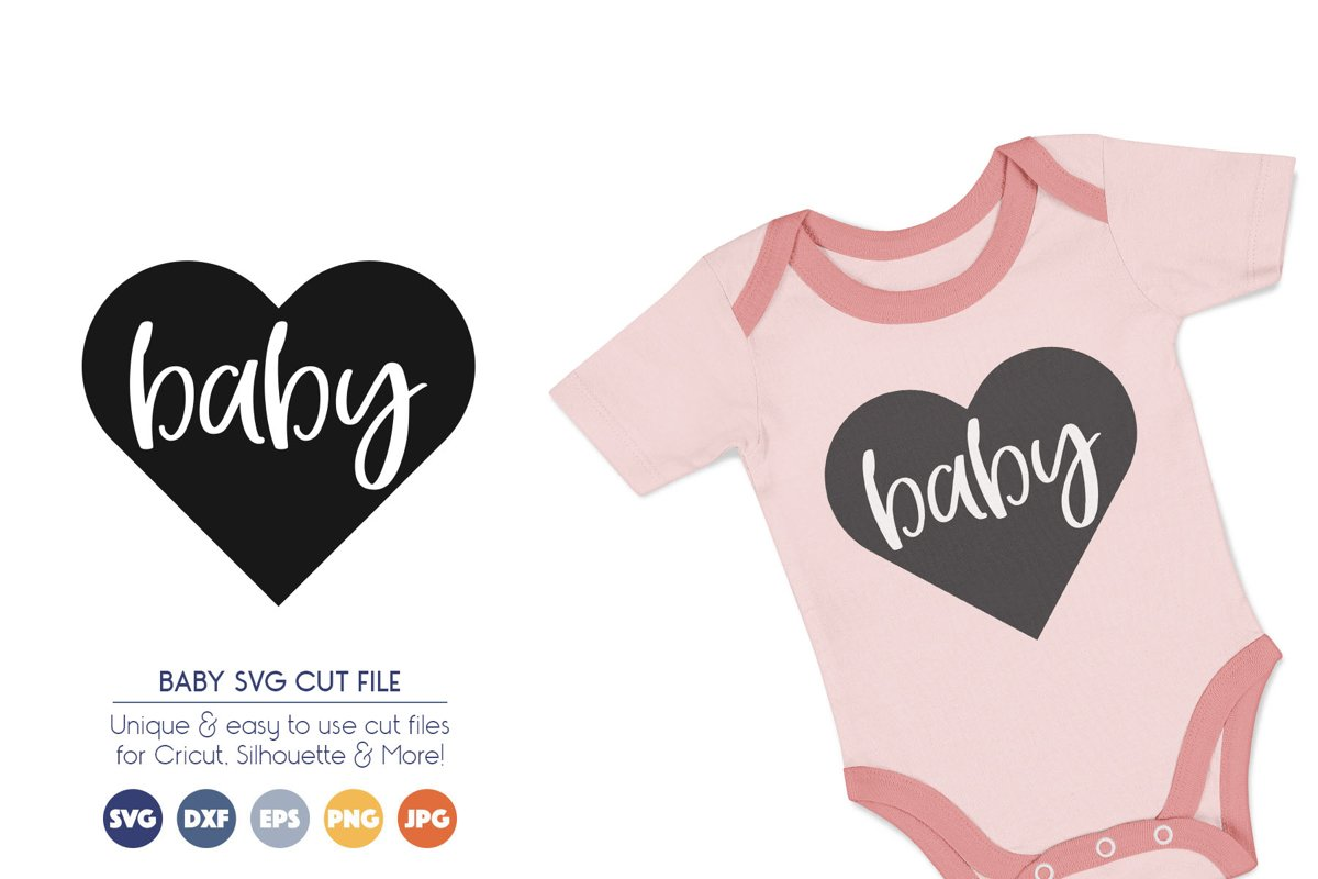 Baby SVG Cut Files example image 1