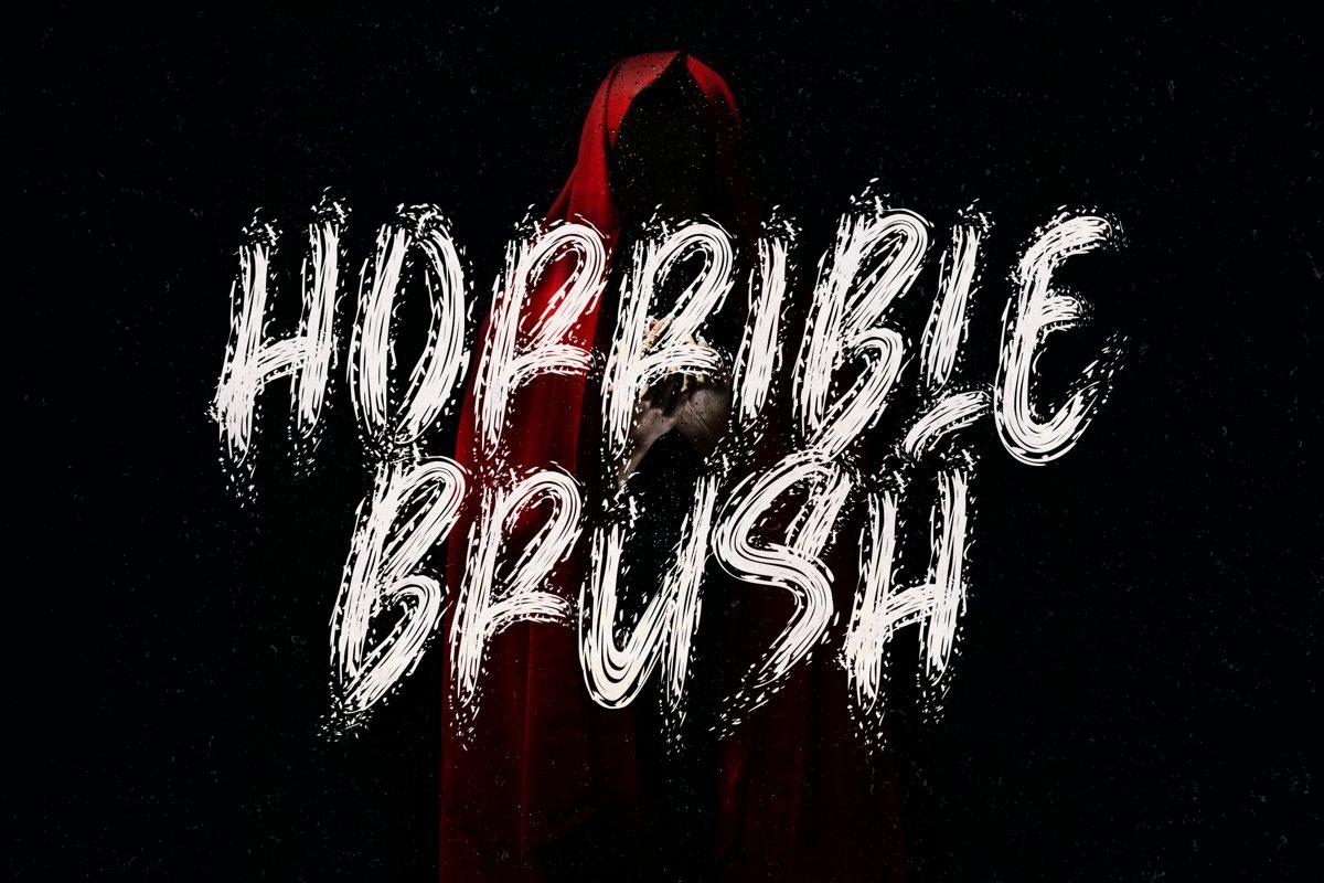 Horrible Brush example image 1