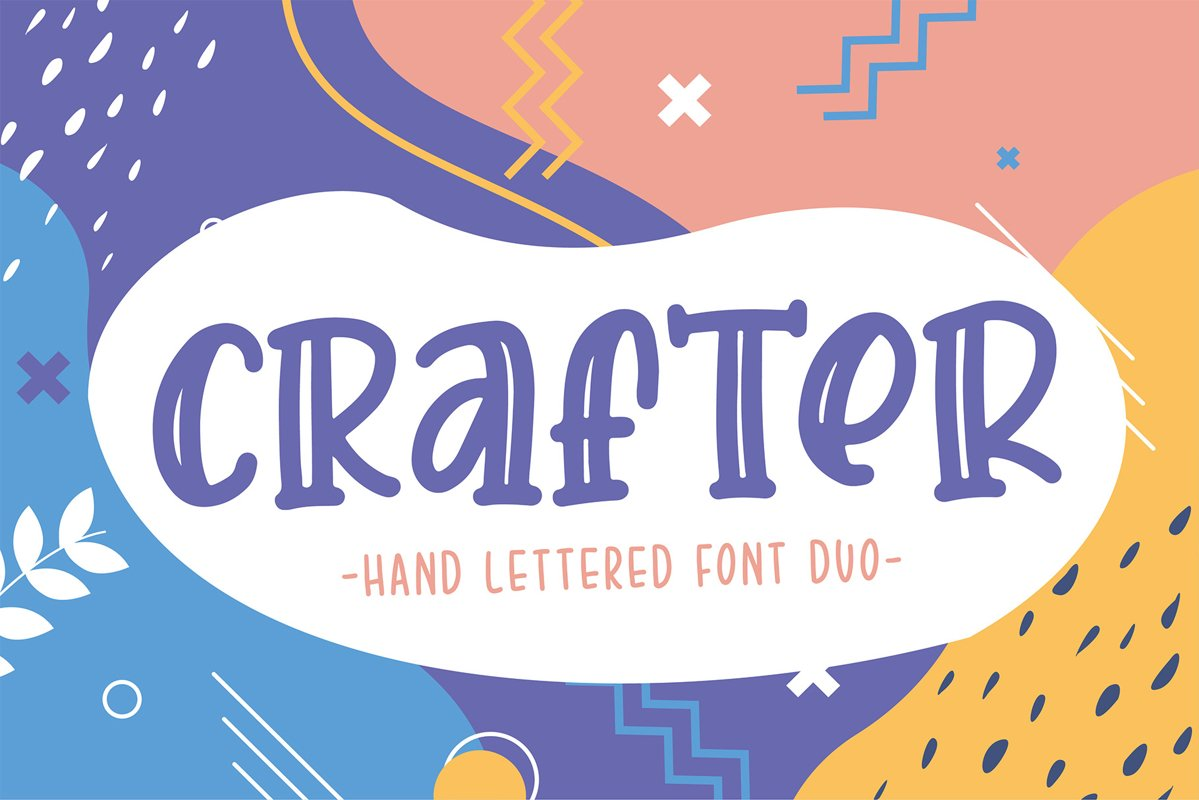 Crafter Font Duo - Best Seller example image 1