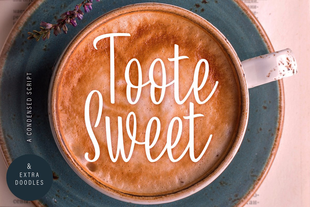 Toote Sweet | A Condensed Script & Extra Doodles example image 1