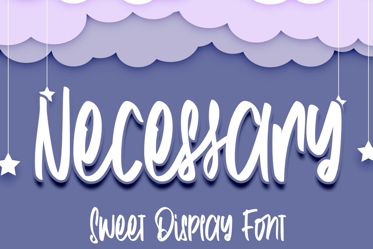 Necessary - Fancy Fonts example image 1