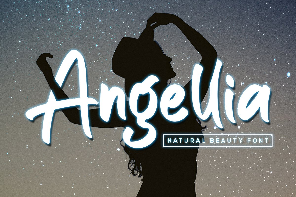 Angellia - Beauty Natural Font example image 1