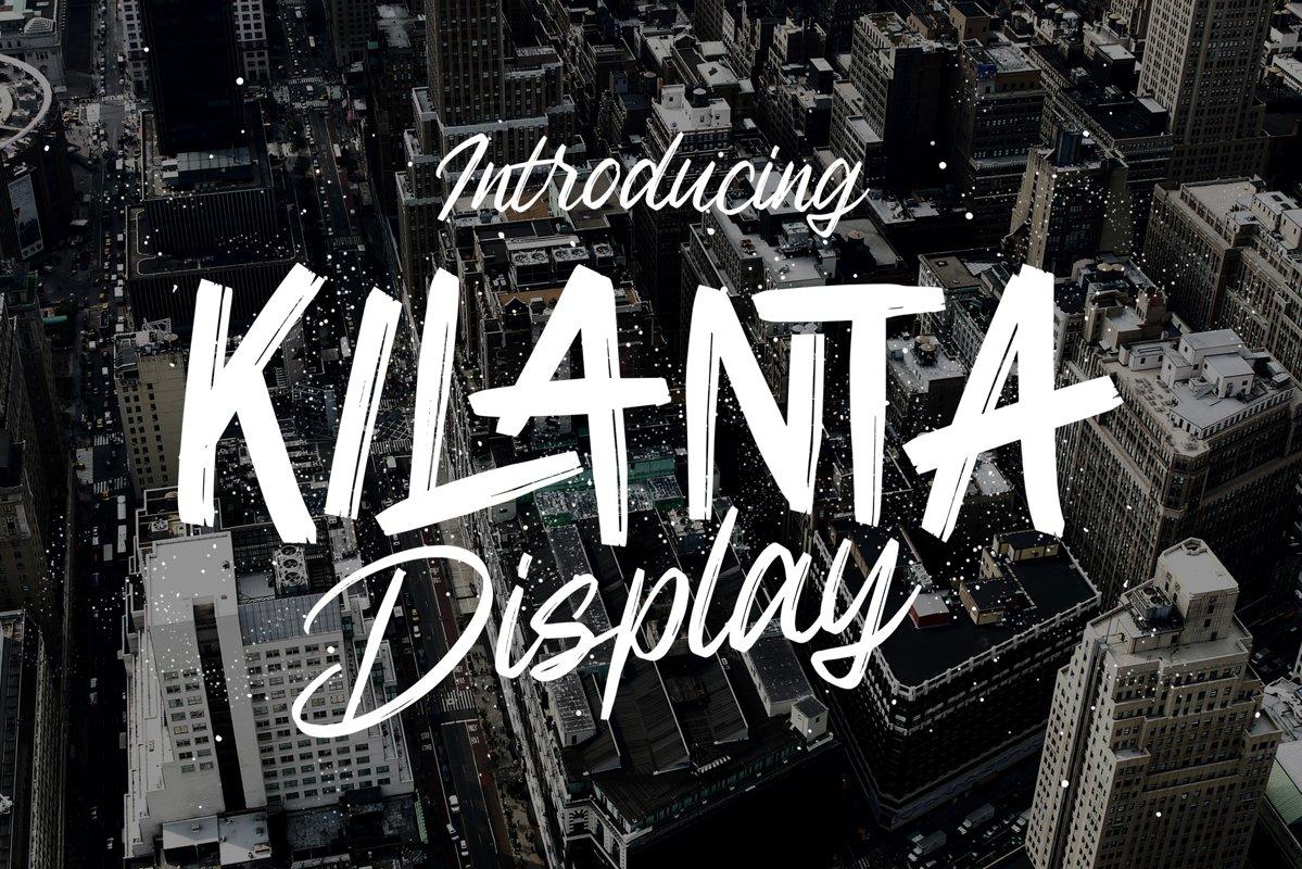 Kilanta Display - Font Duo example image 1