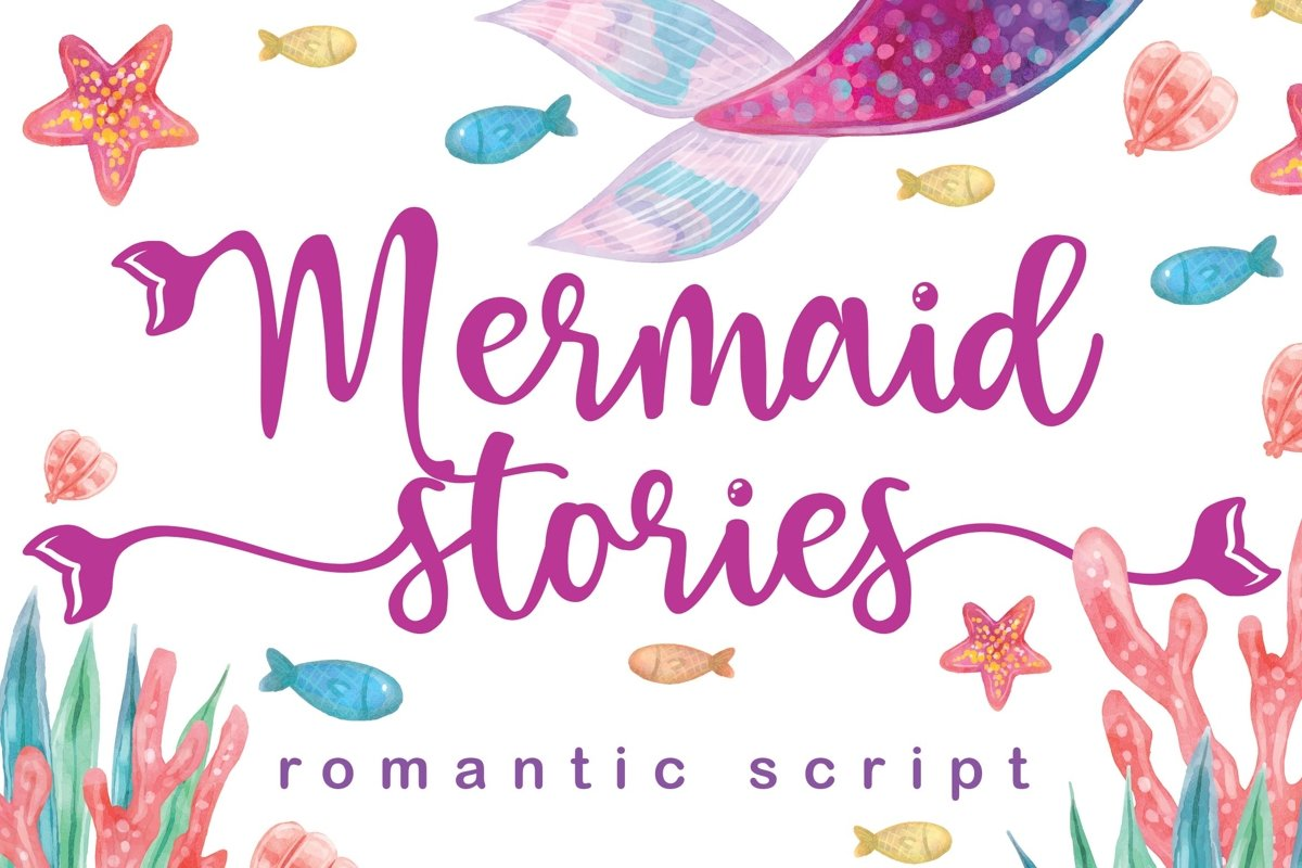 Mermaid Stories example image 1