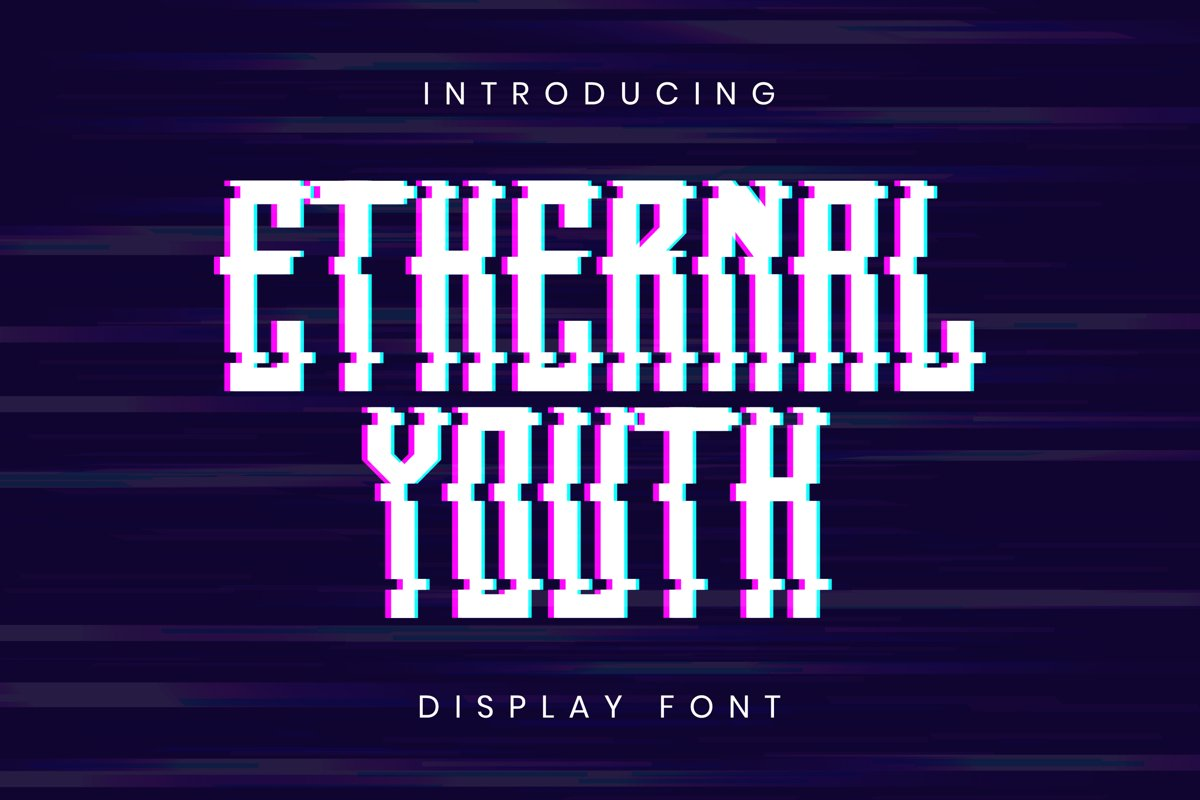 Ethernal Youth Font example image 1