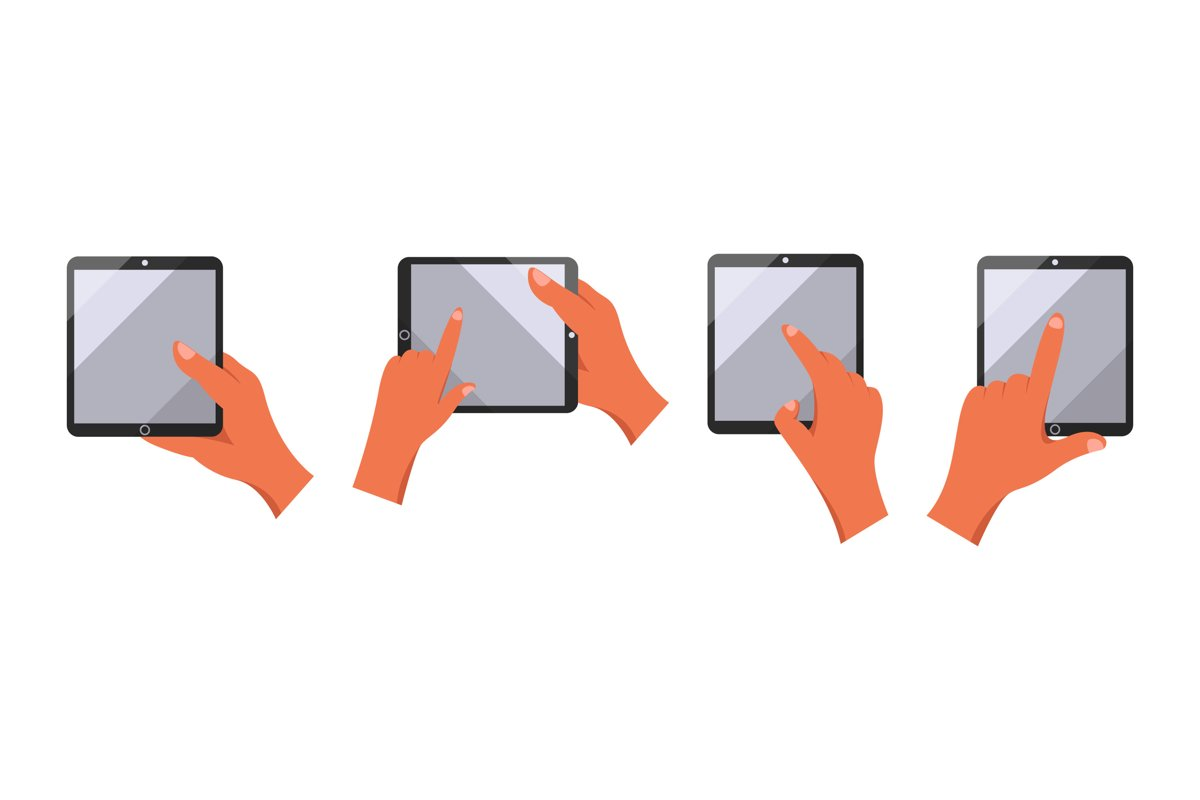 Mobile Phone Illustrations example image 1