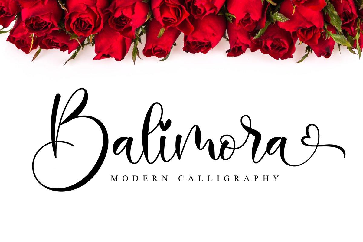 Balimora Script example image 1