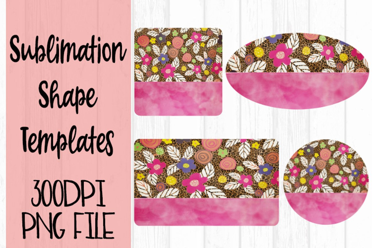 Summer Flower Sublimation Templates example image 1