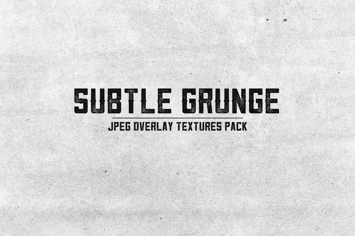 Subtle Grunge Textures Pack example image 1