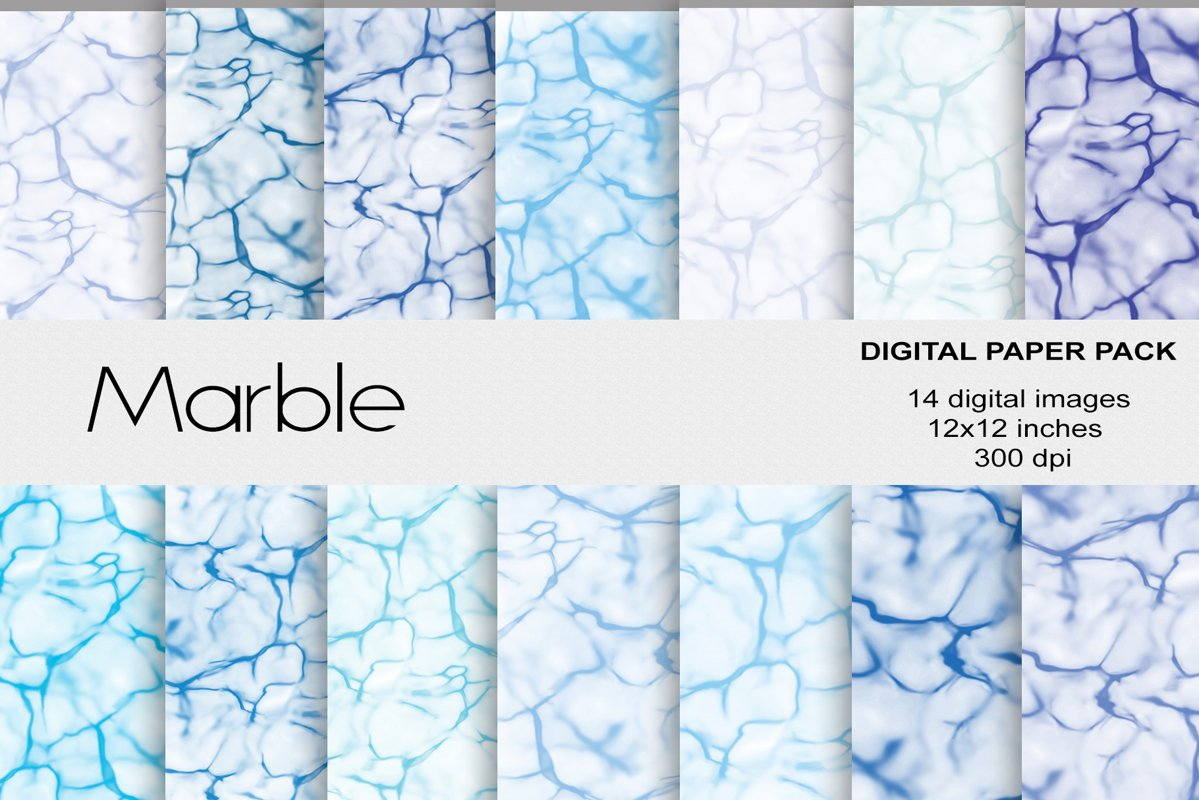 Marble Digital Papers example image 1