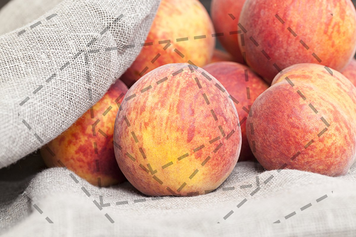 ripe large peaches example image 1