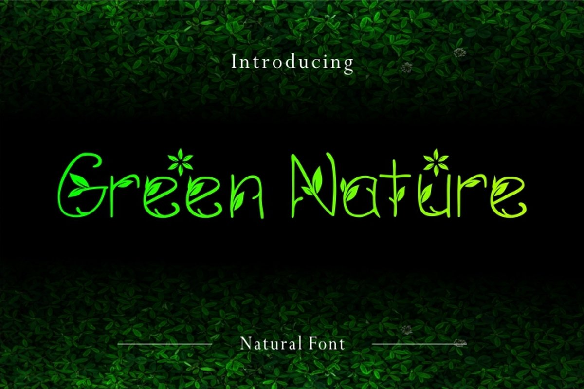 Green Nature example image 1
