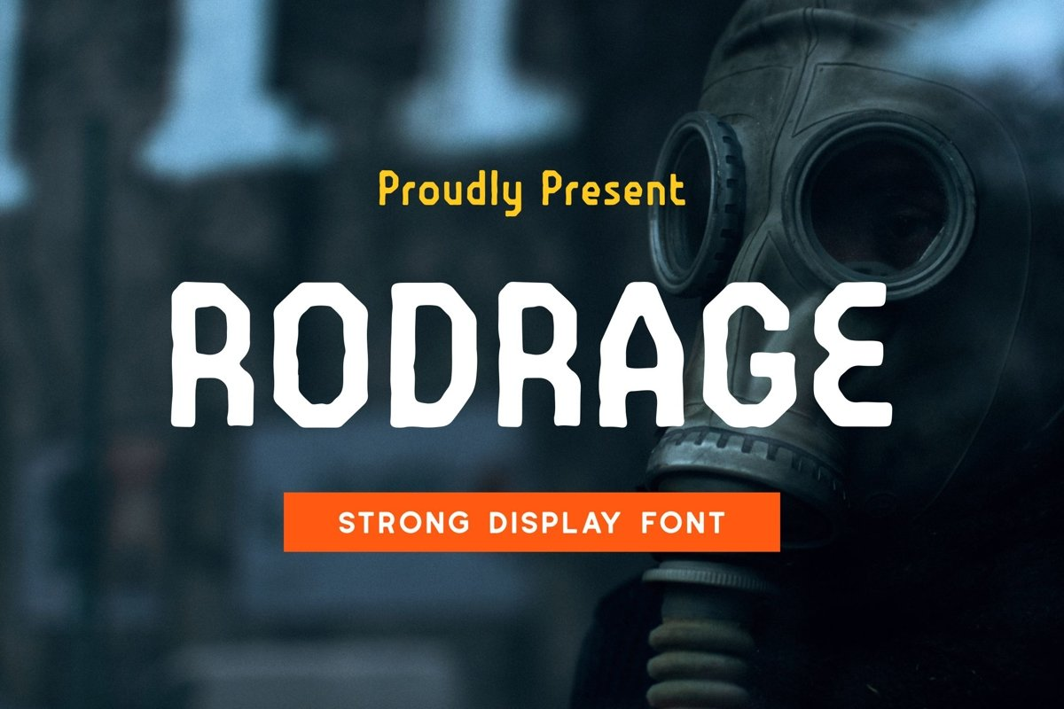 Rodrage Font example image 1