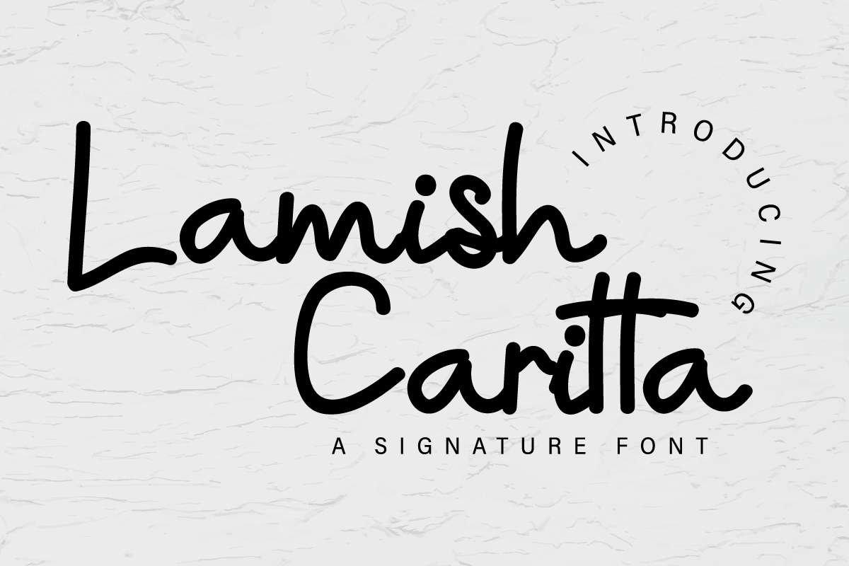 Lamish Caritta example image 1