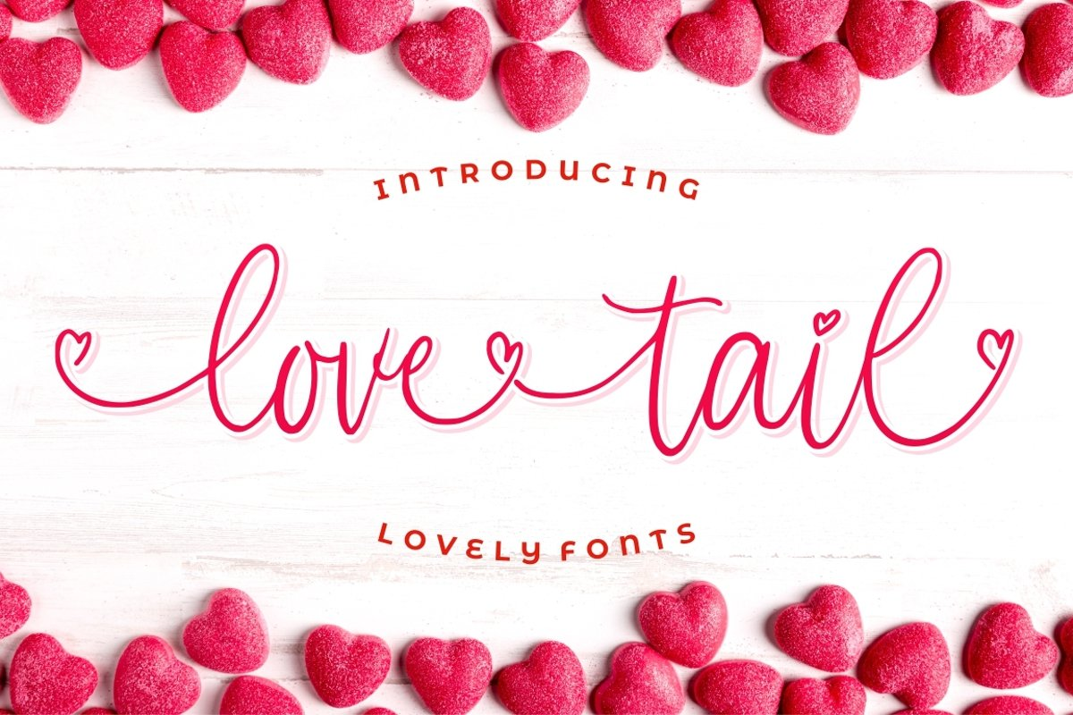 Love Tail | Lovely Font example image 1