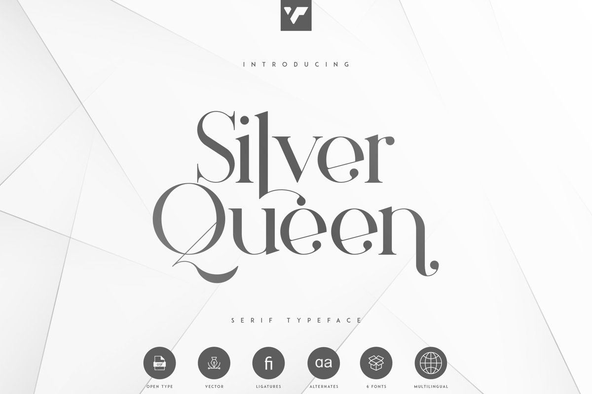 Silver Queen - Serif Typeface example image 1