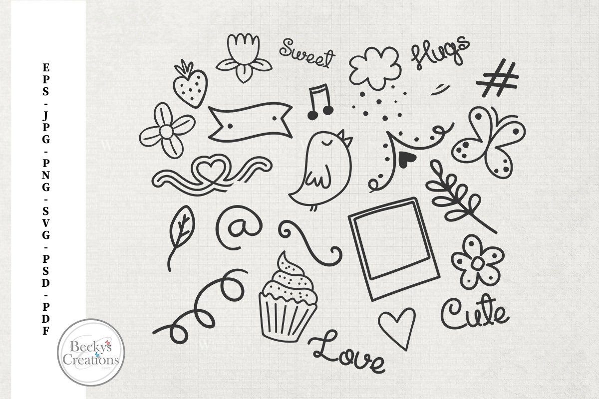 Spring Doodles example image 1