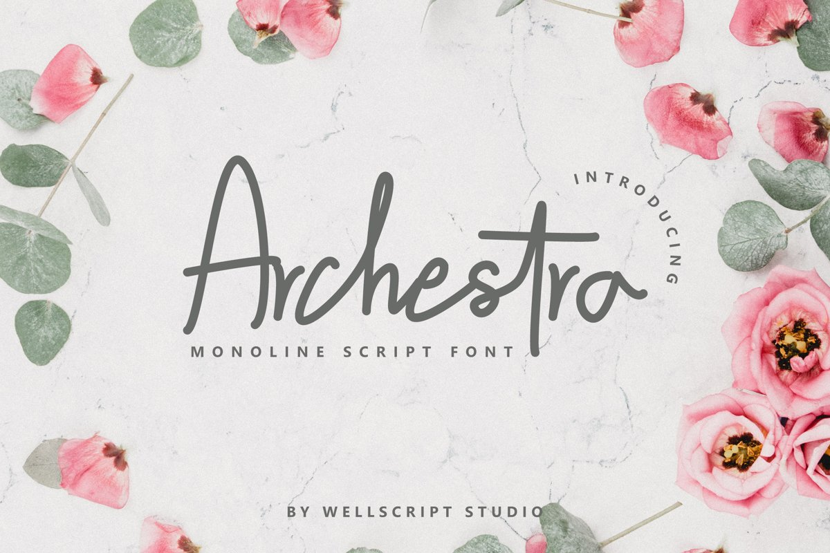 Archestra - Handwritten Script example image 1