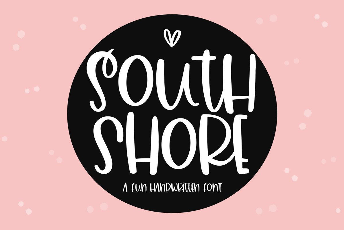 South Shore - A Quirky Handwritten Font example image 1