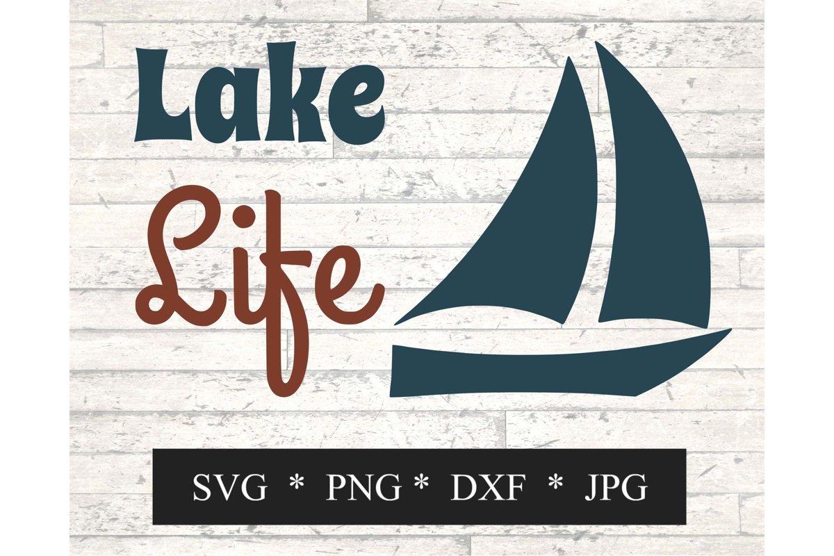Lake Life SVG example image 1