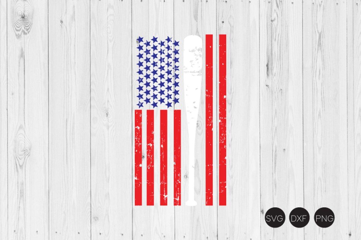 Download Baseball Flag Distressed Svg Baseball Svg 440208 Cut Files Design Bundles
