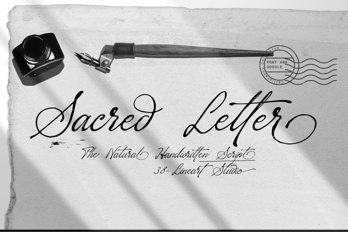 Sacred Letter example image 1