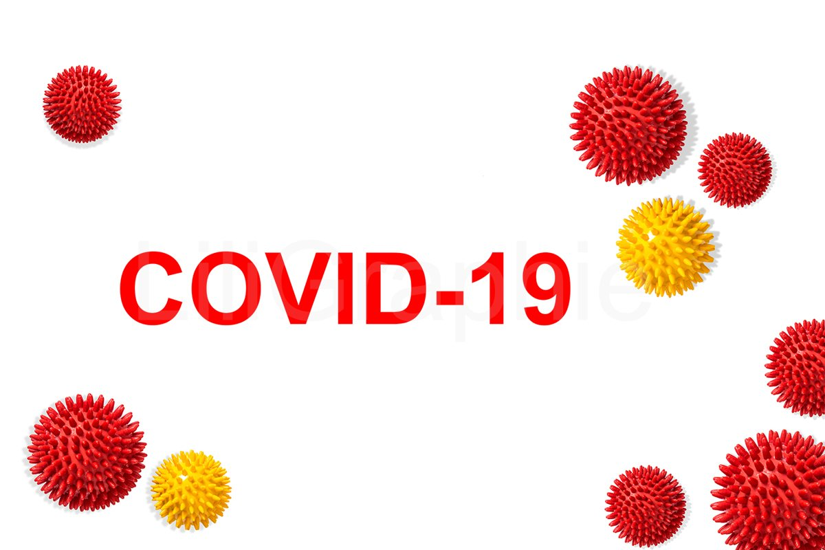 Corona virus covid-19 model Pandemic concept example image 1