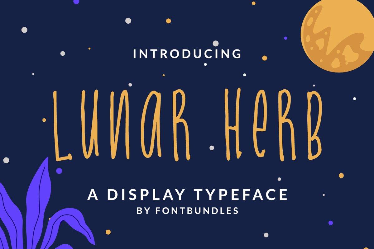 Lunar Herb example image 1