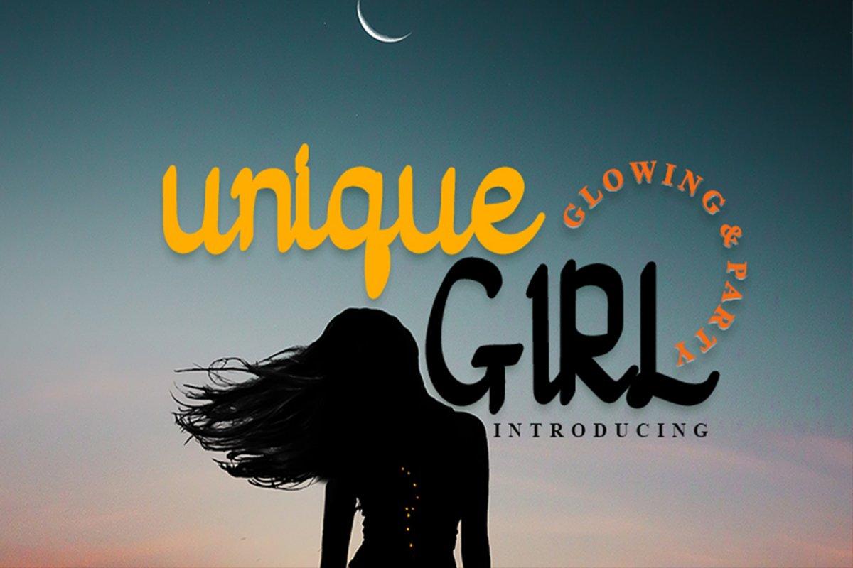 Unique Girl example image 1