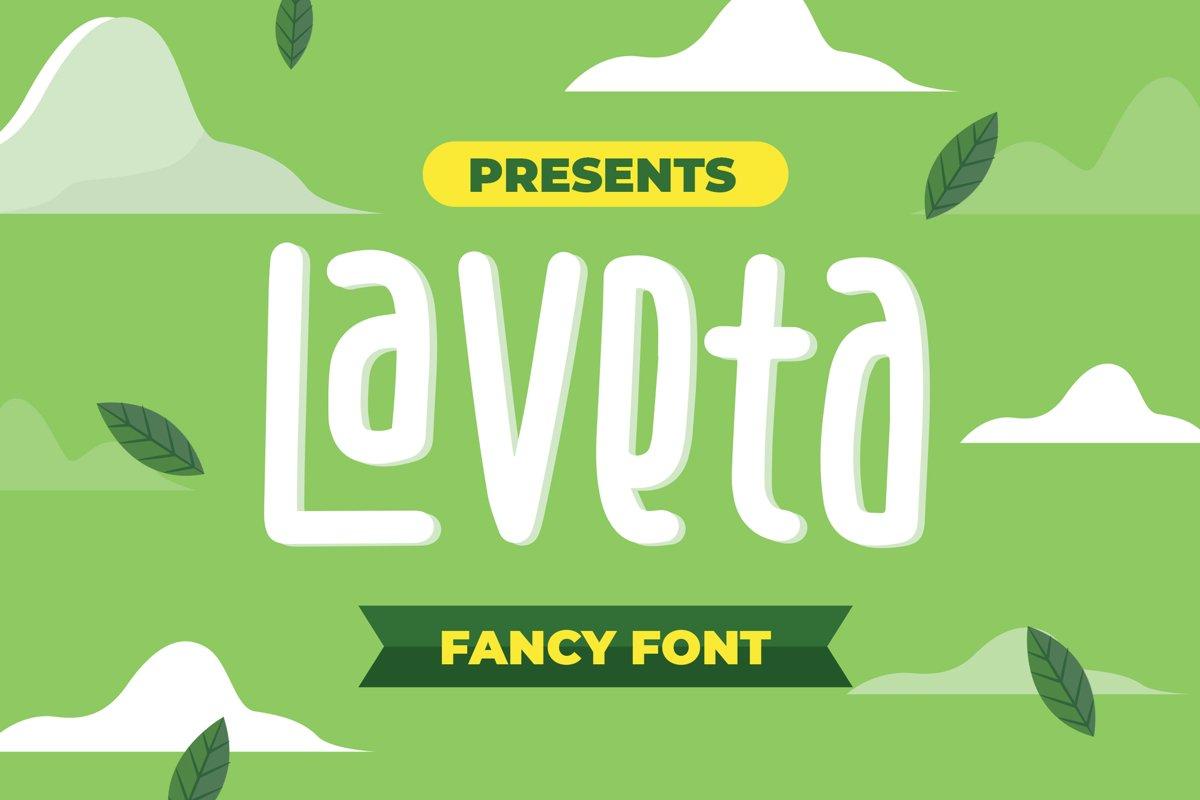 Laveta - Fancy Fonts example image 1