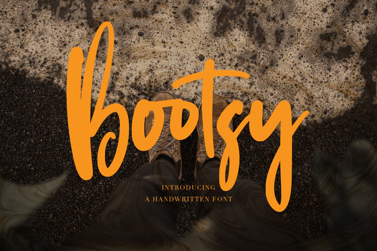 Bootsy - Handwritten Font example image 1